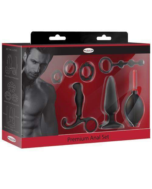 Malesation 7 Pc Premium Anal Kit-LoveBoxToys.com