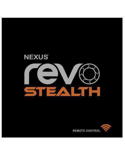 Nexus Revo Stealth Remote Control Rotating Prostate Massager - Black-LoveBoxToys.com