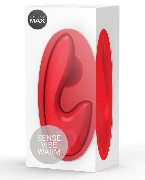 Sensemax Warming Sensevibe Rechargeable - Red-LoveBoxToys.com