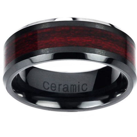 Ceramic Men's Wedding Rings