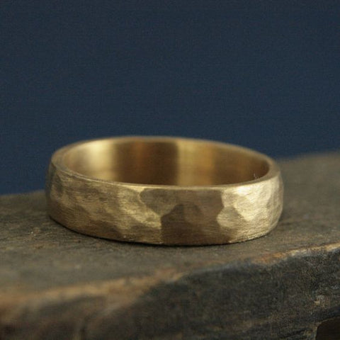 Gold Men's Wedding Rings