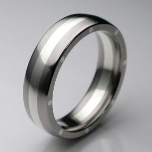 Palladium Men's Wedding Rings