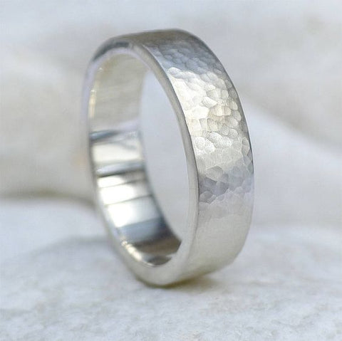 Silver Men's Wedding Rings