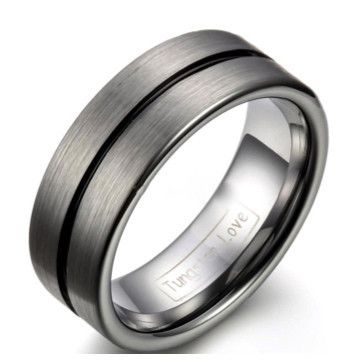 Tungsten Men's Wedding Rings