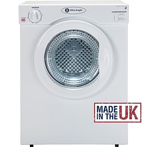 White Knight C37AW Compact 3kg Tumble Dryer