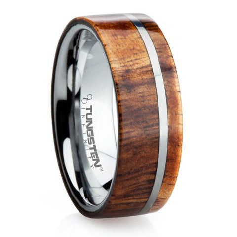 Wooden Men's Wedding Rings