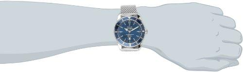 Breitling Men's A1732016/C734SS Blue Dial Superocean Heritage Watch