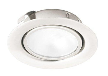 Leyton Lighting 12v 20w halogen recessed downlight chrome warm white low voltage (Driver Required)