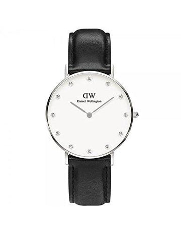 DANIEL WELLINGTON - Watch Daniel Wellington SHEFFIELD Ref DW00100080-Ø34-SV-leather