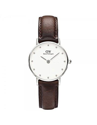 DANIEL WELLINGTON - Watch Daniel Wellington BRSITOL Ref DW00100070-Ø26-SV-leather