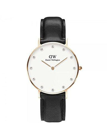 DANIEL WELLINGTON - Watch Daniel Wellington SHEFFIELD Ref DW00100076-Ø34-RG-leather