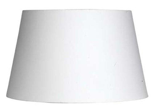 White Cotton Drum Shade