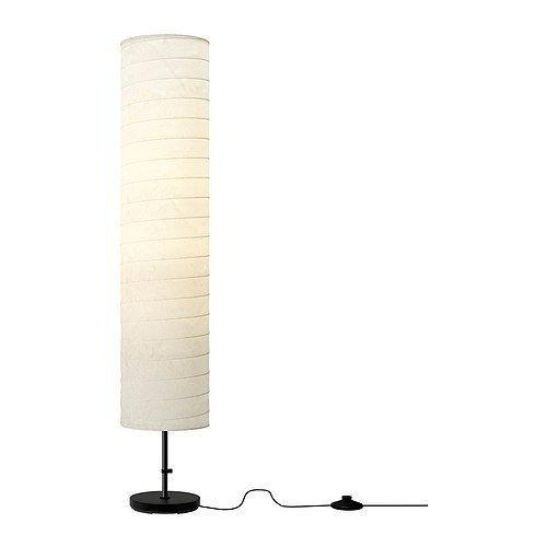 2 x Genuine Ikea HOLMO Floor Lamp Soft Smooth Relaxing Living Room / Bedroom Standing Light