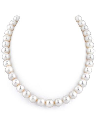 18 Inch Princess Length 10-11mm White Freshwater Cultured Pearl Necklace AAAA