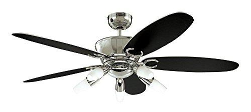 Westinghouse Arius Ceiling Fan - Chrome