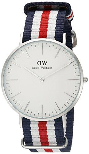 Daniel Wellington Men's Quartz Watch Classic Canterbury 0202DW with Plastic Strap