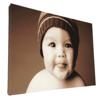 Your my photo picture on personalised wall canvas size A1 32
