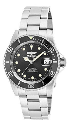 Invicta Unisex-Adult Automatic Watch, Analogue Classic Display and Stainless Steel Strap 17044