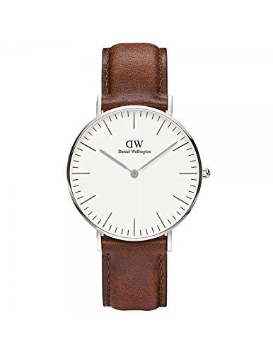 DANIEL WELLINGTON - Watch Daniel Wellington ST MAWES Ref DW00100052-Ø36-SV-leather