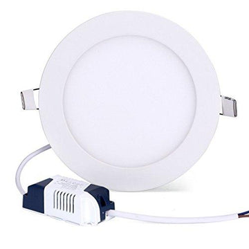 12W 4000K Natural White CREE LED Recessed Ceiling Panel Down Lights Lamp Round Ultrathin LED Lighting Fixtures with LED Driver