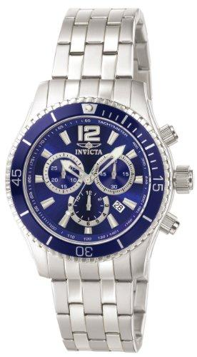 Invicta Specialty Men's Chronograph Quartz Watch with Stainless Steel Bracelet – 0620