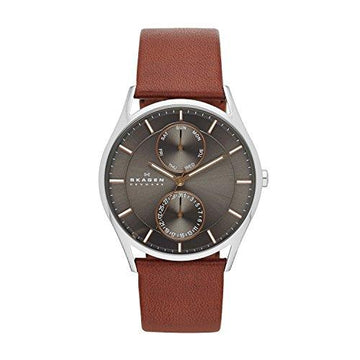 Skagen SKW6086 Mens Watch, Grey/Brown