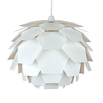Modern White Designer Artichoke Ceiling Pendant Light Shade