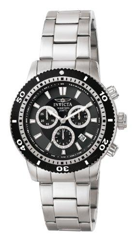 Invicta Specialty Men's Chronograph Quartz Watch with Stainless Steel Bracelet – 1203