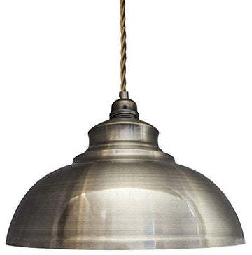 Modern Vintage Antique Brass Pendant Light Shade Industrial Hanging Ceiling Light Ideal For Dining Room Bar Clubs & Restaurants