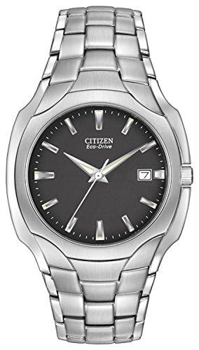 Citizen Men's Eco-Drive Stainless Steel Watch #BM6010-55E