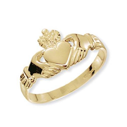 Genuine 9ct Gold Claddagh Ring