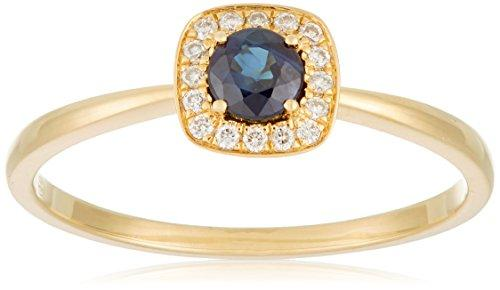 All My Jewellery Ring, 18ct Yellow Gold Sapphire badm 07070-0001 yellow