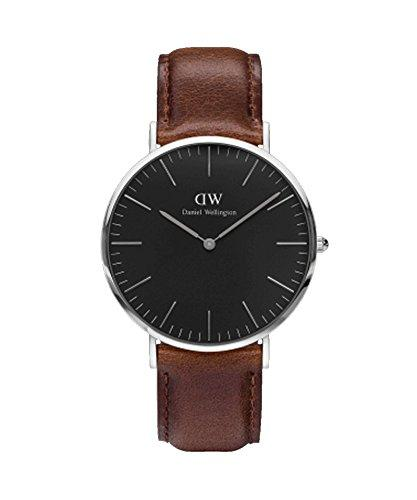 DANIEL WELLINGTON - Men's watch 40 mm, DANIEL WELLINGTON CLASSIC BLACK YORK PINK GOLD DW00100128