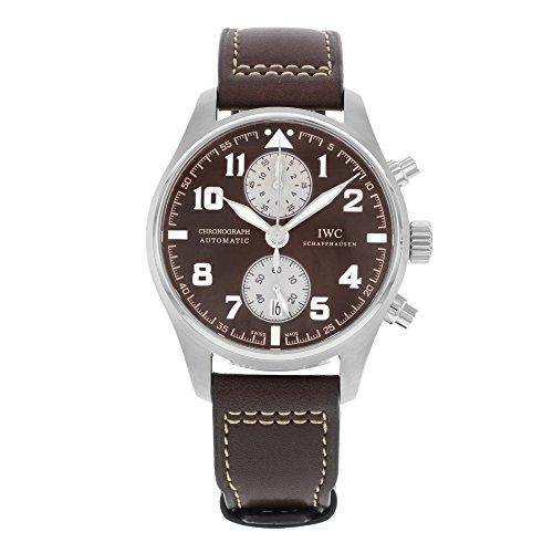 IWC MEN'S PILOTS ANTOINE DE SAINT EXUPERY 43MM BROWN AUTOMATIC WATCH IW387806