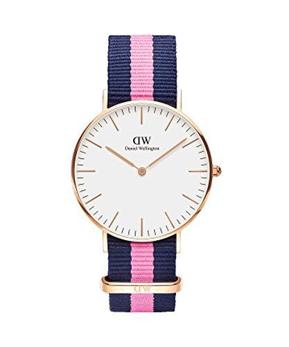 DANIEL WELLINGTON - Shows mixed 36 mm DANIEL WELLINGTON WINCHESTER ROSE GOLD DW00100033