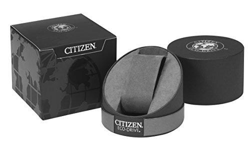Citizen Men's Quartz Watch with Black Dial Analogue Display and Silver Stainless Steel Bracelet AW1430-86E