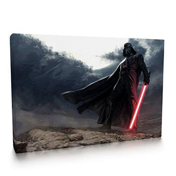 Darth Vader Print Canvas 002 (30x20 inches)