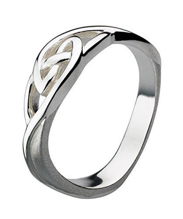 Heritage Women's Sterling Silver Celtic Knotwork Ring
