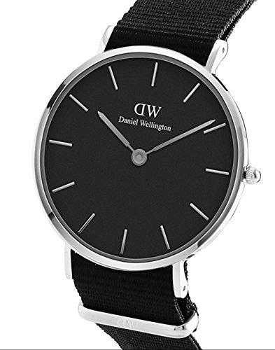 Daniel Wellington Classic Petite Cornwall in Black 28mm