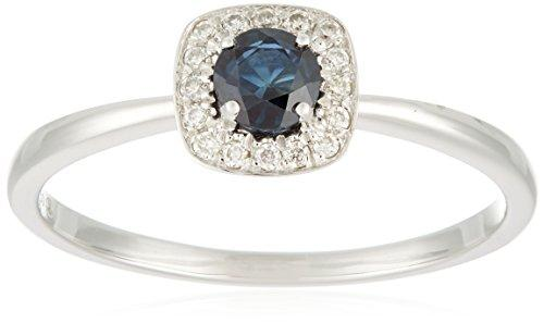 All My Jewellery Ring, 18ct White Gold, Sapphire badm 07067-0001 gray