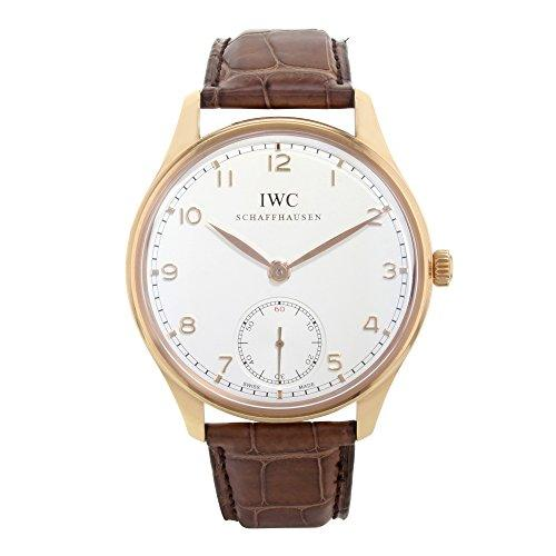 Portuguese Automatic White Dial Brown Leather Men's Watch