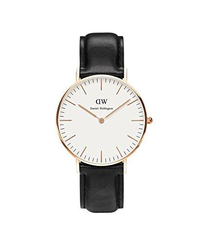 DANIEL WELLINGTON - Shows mixed 36 mm DANIEL WELLINGTON SHEFFIELD ROSE GOLD DW00100036