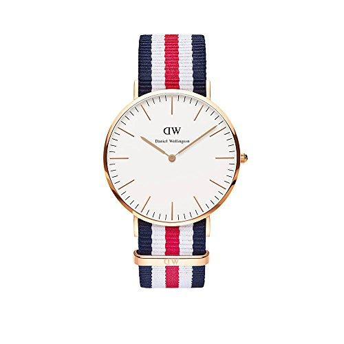 Daniel Wellington Gents Fabric Quartz Watch 0102DW