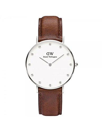 DANIEL WELLINGTON - Watch Daniel Wellington ST MAWES Ref DW00100079-Ø34-SV-leather