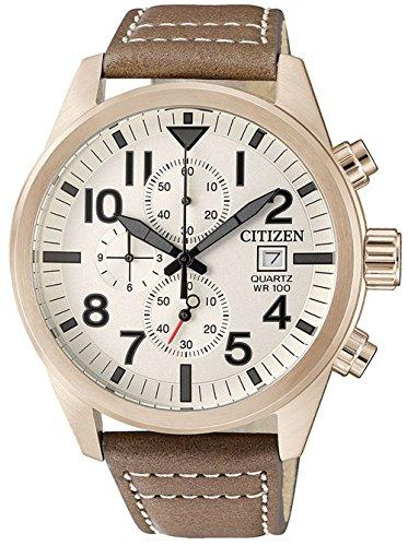 Citizen Casual Watch for Men , Brown , AN3623-02A