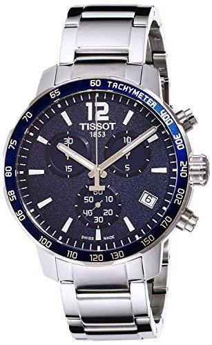 TISSOT watch Quick Star Chronograph 10 ATM water resistant T0954171104700 Men's [regular imported goods]