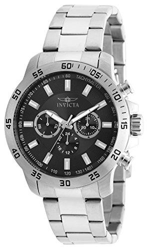 Invicta Specialty Men's Chronograph Quartz Watch with Stainless Steel Bracelet – 21502