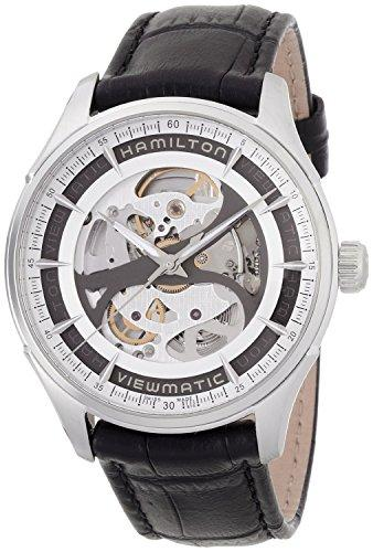 HAMILTON watch Jazzmaster Viewmatic Skeleton automatic H42555751 Men's [regular imported goods]