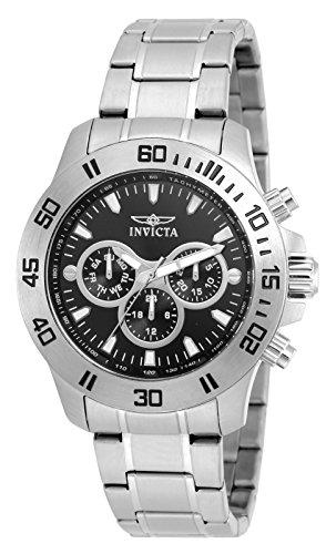 Invicta Specialty Men's Chronograph Quartz Watch with Stainless Steel Bracelet – 21481