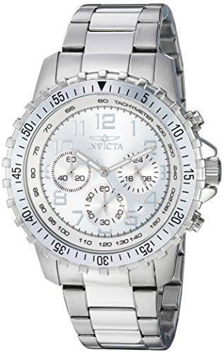 Invicta Specialty Men's Chronograph Quartz Watch with Stainless Steel Bracelet – 6620